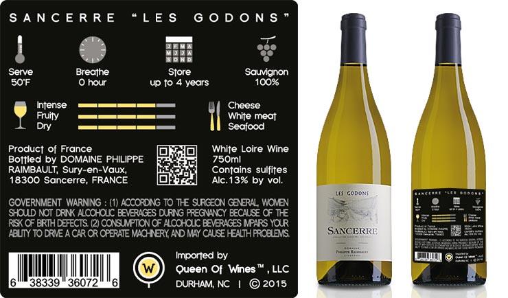 "Sancerre <br/>Blanc<br/> ""les Godons"""