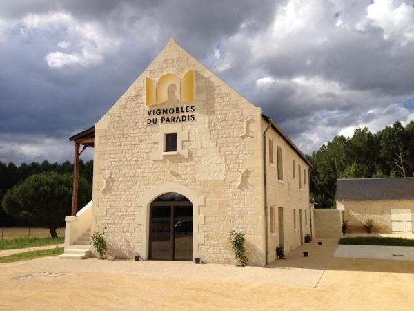 Chinon<br/>Château de Rivière<br/>AOP Chinon